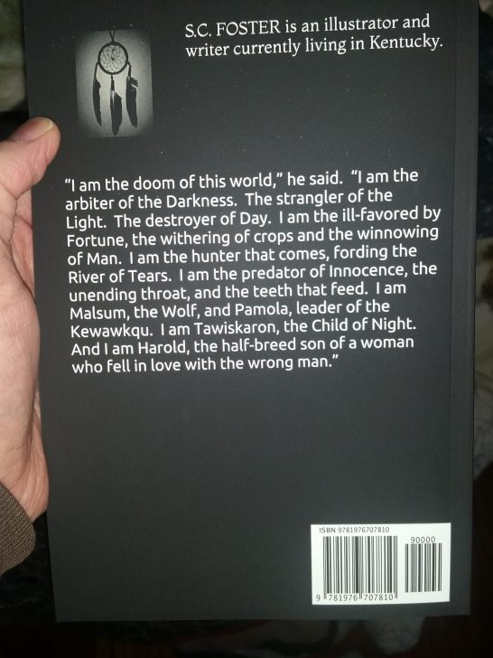 The Dark Dreamer Back Cover